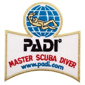 Master Scuba Diver, the highest accolade on PADI's recreational ladder